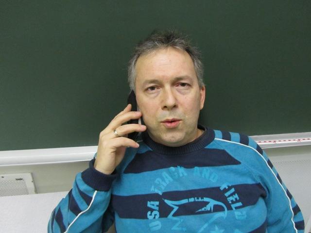 Fritz Johnsen vant første runde av klubbmesterskapet i singel i Myre BK